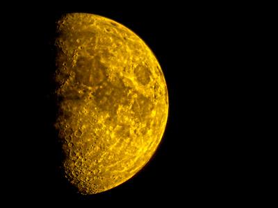 Waxing Gibbous Moon 14 October 2021 DSCN1240
